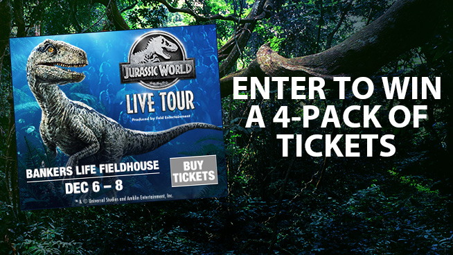 Jurassic World Live Tour Sweepstakes | 99 5 ZPL FM