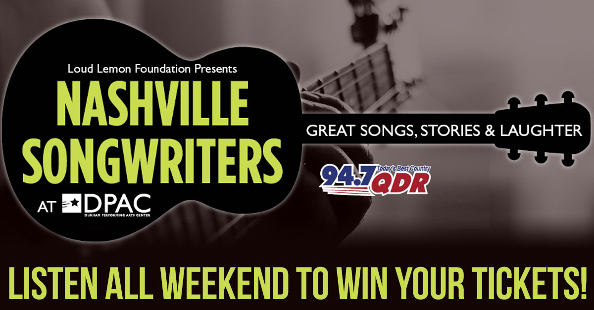 Nashville Songwriters Tickets 94 7 Qdr