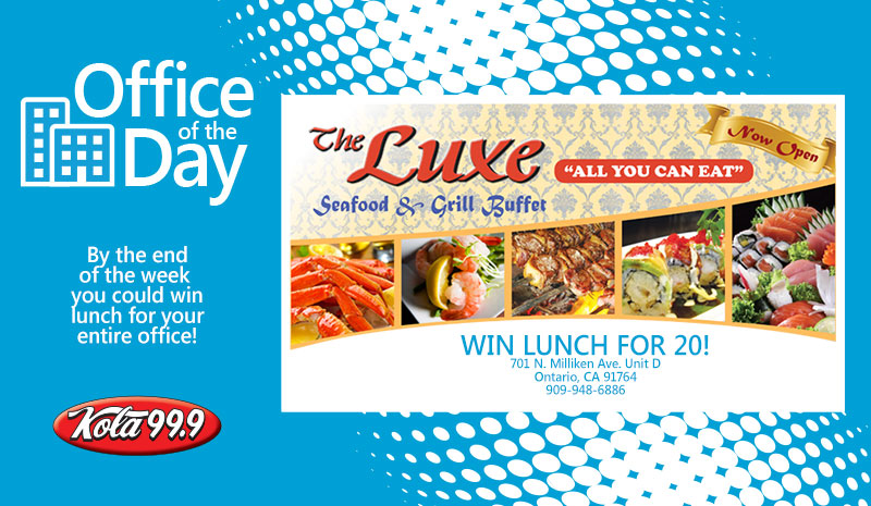 image regarding The Luxe Buffet Printable Coupon named Buffet Criativas: Luxe Buffet Ontario