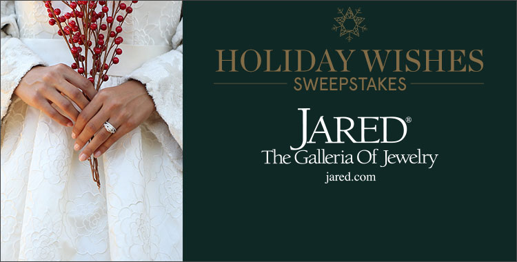 Jared the Galleria of Jewelry Holiday Wishes Sweepstakes 2016