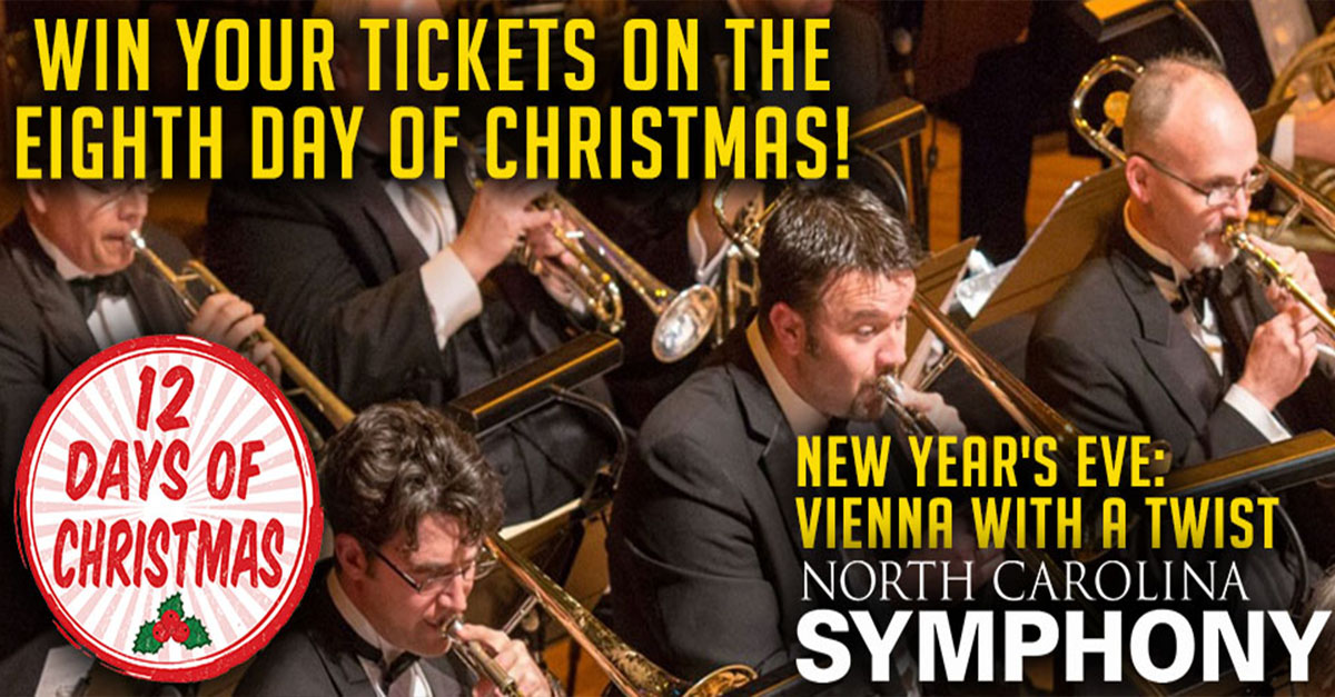 A Twist Of Christmas.12 Days Of Christmas North Carolina Symphony S New Year S
