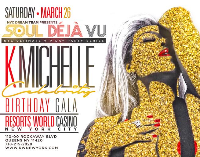 K  Michelle Birthday Gala! | WNBM-FM | Cumulus