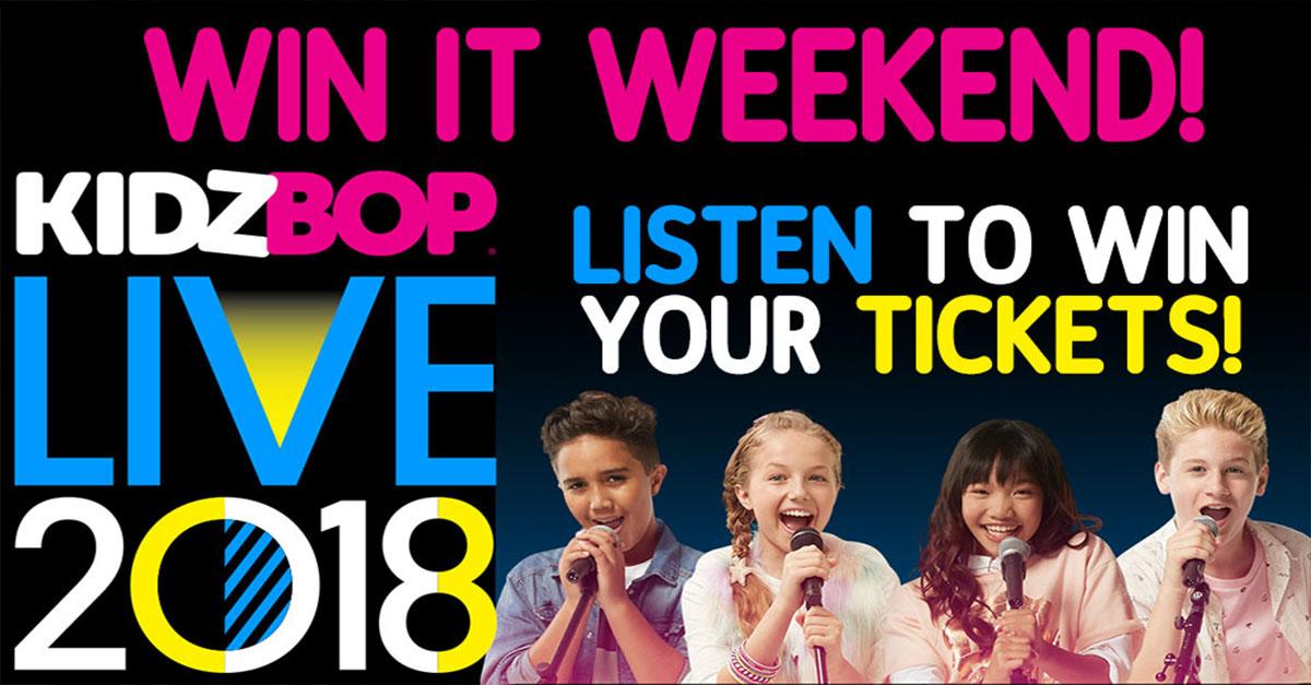 Win it Weekend: Kidz Bop Live | WPLW-FM