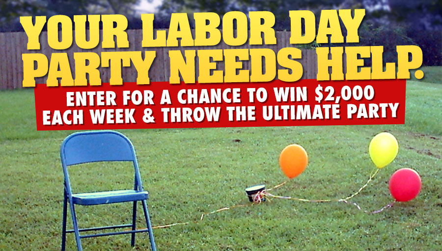 The Ultimate Labor Day Giveaway | WLFF-FM