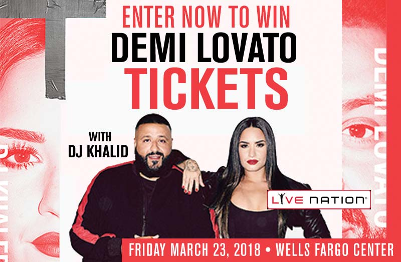Demi lovato giveaway sweepstakes