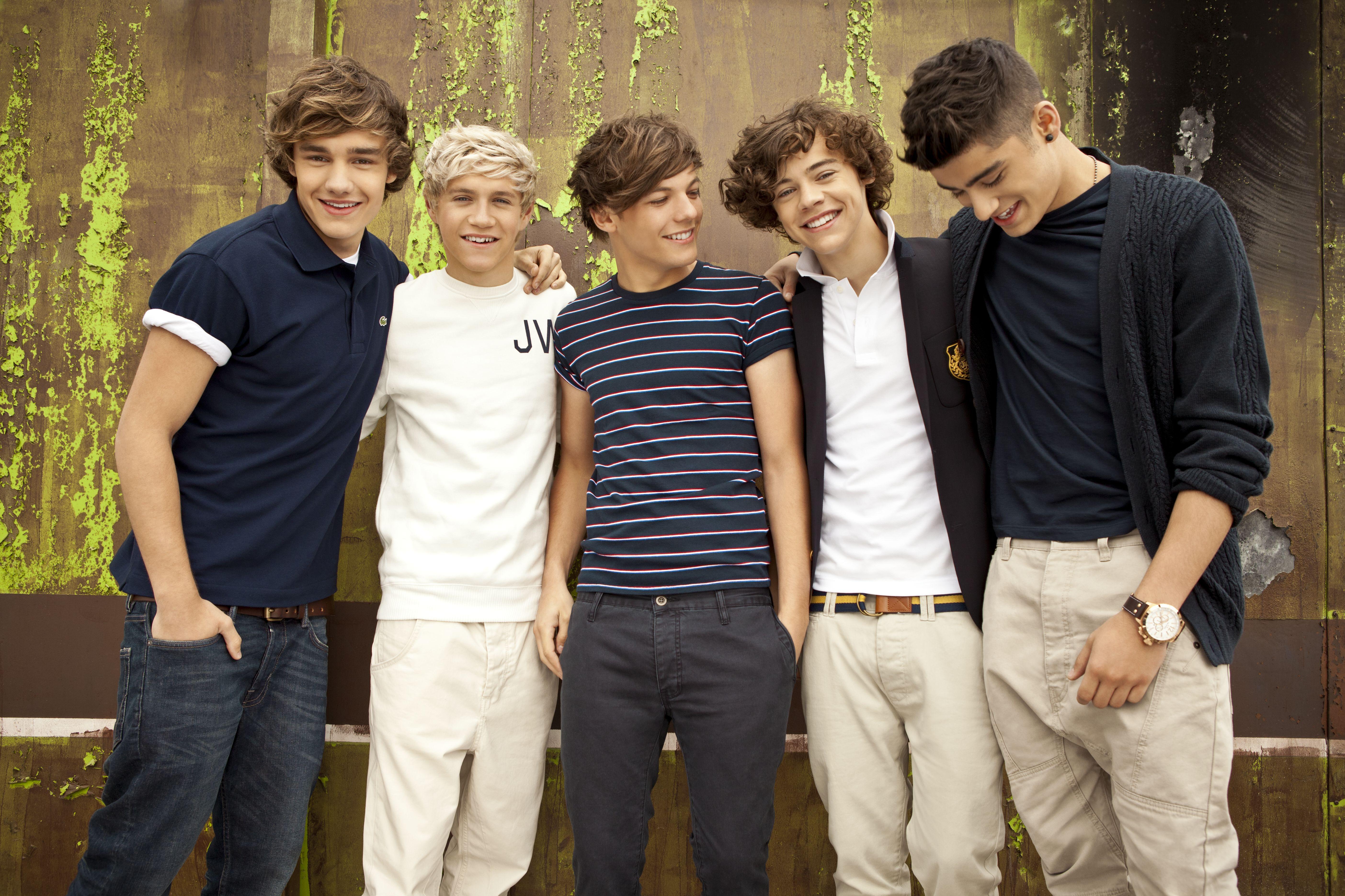 One Direction фотография 14.  Исполнители.  Концерты.  Клубы.  One Direction.