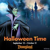 Halloween Time at the Disneyland® Resort (4-pack)