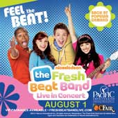 The Fresh Beat Band at Pac Amp/OC Fair (8/1) (4-pack)