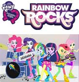 MY LITTLE PONY EQUESTRIA GIRLS: RAINBOW ROCKS Prize Pack
