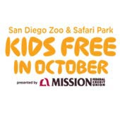 San Diego Zoo & San Diego Zoo Safari Park: Kid Free (4-pks)