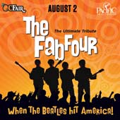 The Fab Four at Pac Amp/OC Fair (8/2) (PAIR)